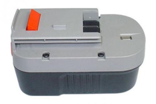 14.4V 3000mAh Black & Decker HP148F2 HP148F3B 499936-34 A14 A144EX compatibele Accu