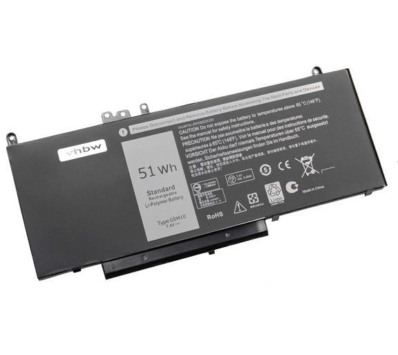 Dell E5450 Latitude 3150 3160 E5250 E5450 E5550 6MT4T 8V5G compatibele Accu
