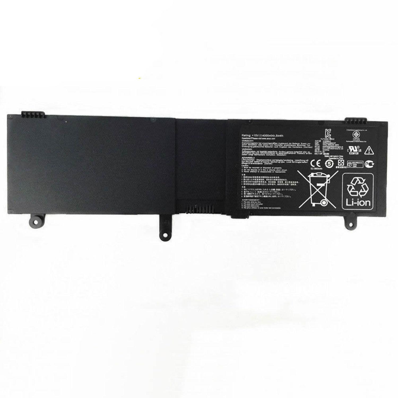 Asus N550JK-DS595D N550JK-DS71T N550JV N550JV-CM203H compatibele Accu