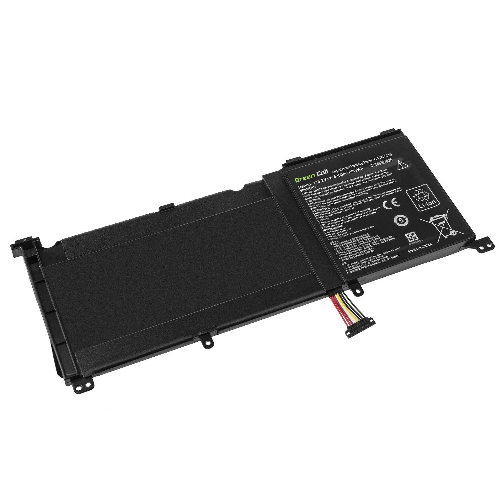 C41N1416 Asus ZenBook Pro G501 G501J G501VW N501L UX501J 3950mAh compatibele Accu