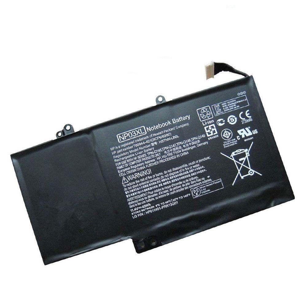 HP Pavilion x360 13-A251UR 13-A252NC 13-A252UR 13-A260NB compatibele Accu